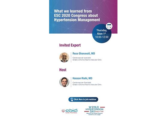 ESC Congress about HTN Management